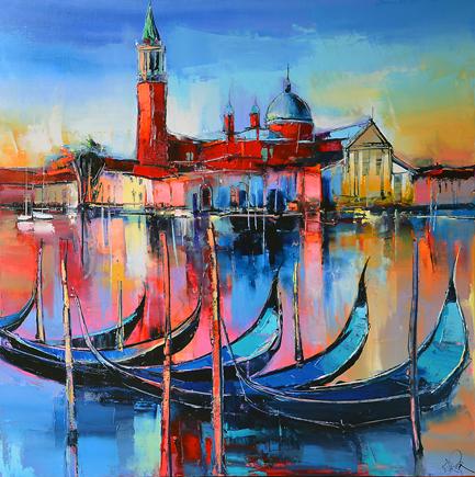 Le campanile par Eric Le Pape, peintre