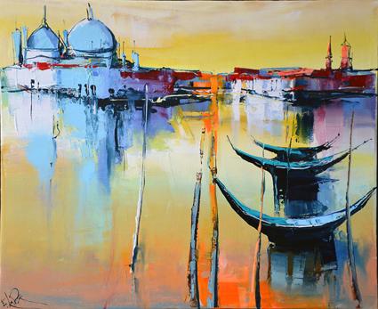 Matinale sur Venise par Eric Le Pape
