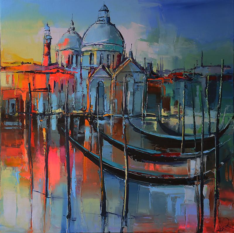 Peinture d'Eric Le Pape, la basilique