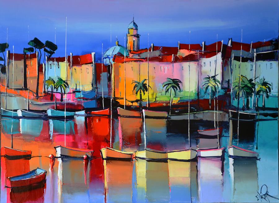 Inspiration à Ajaccio, Corse, peinture d'Eric Le Pape
