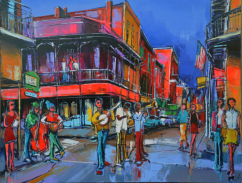 Peinture d'Eric Le Pape, Royal house